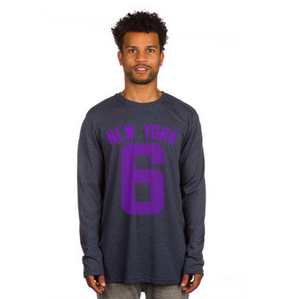 Image of NEW YORK 6 (SPORT GREY AND PURPLE)
