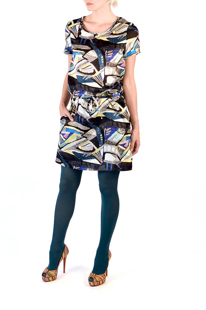 Image of Sam Dress (Prism print)