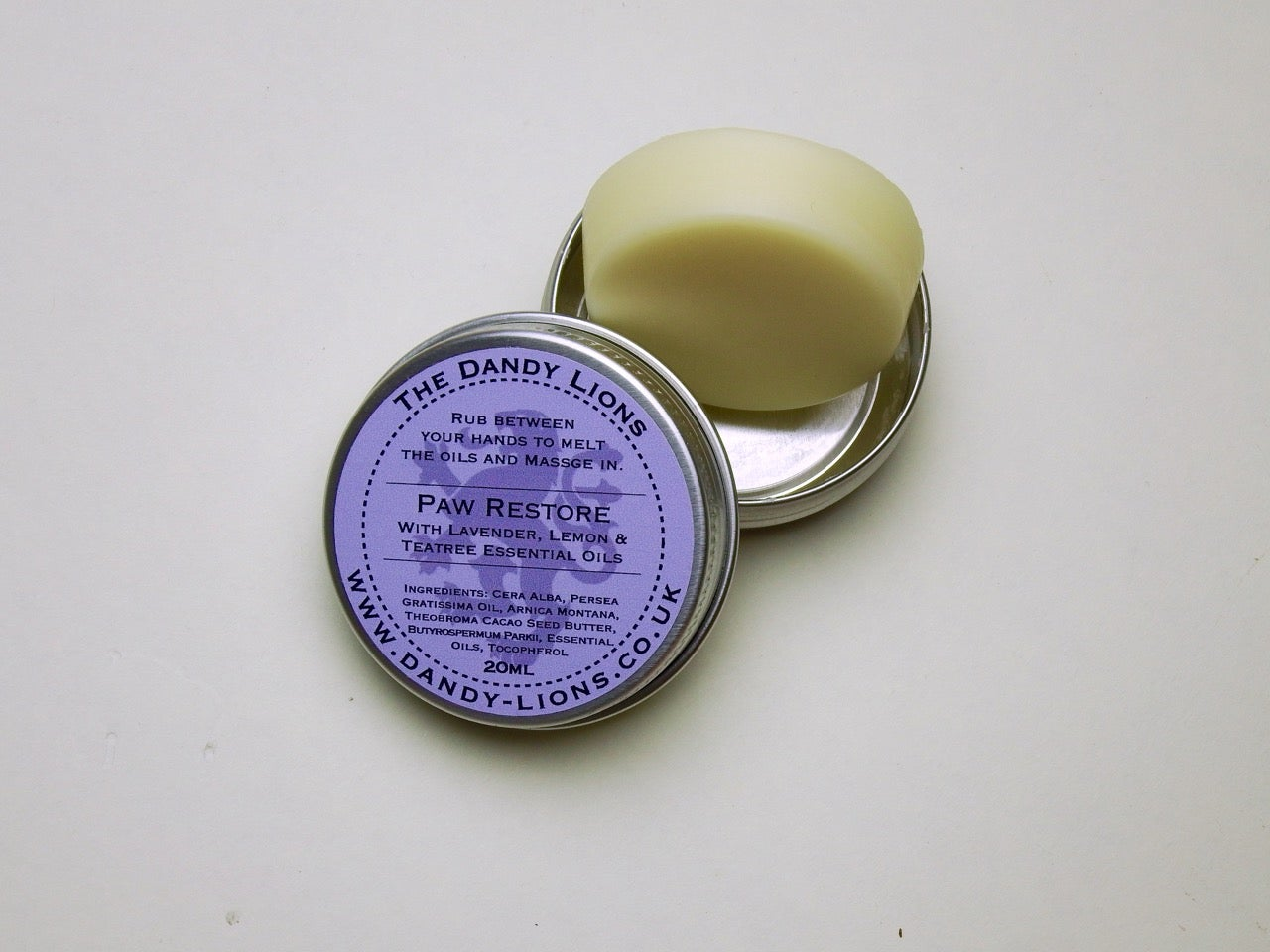 Image of Paw Restore solid hand balms