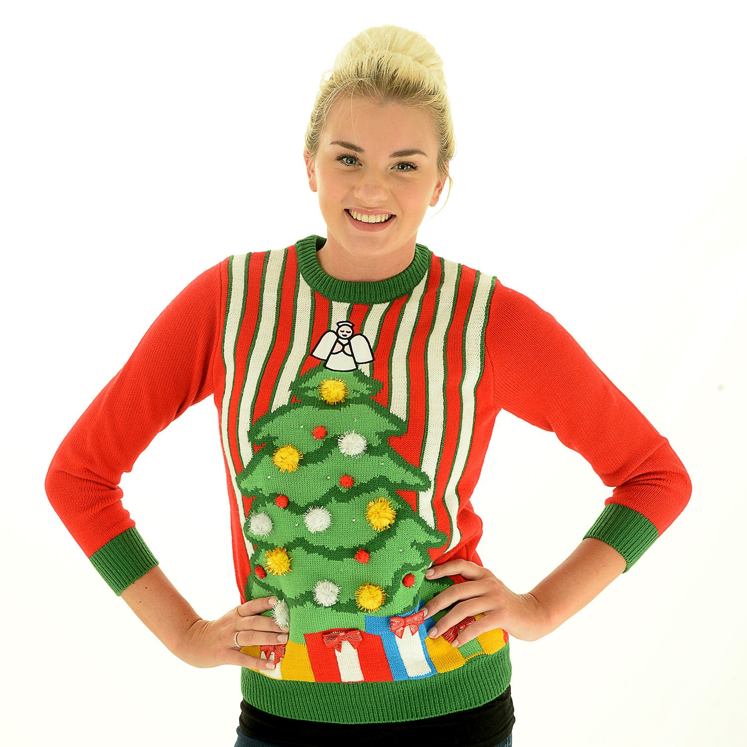 Night before light up christmas jumper cheesy christmas jumpers