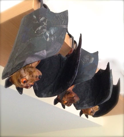 Image of Another bat is currently on the work bench!