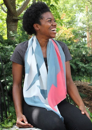 Image of 2015 Limited Edition Maud Morgan Scarf