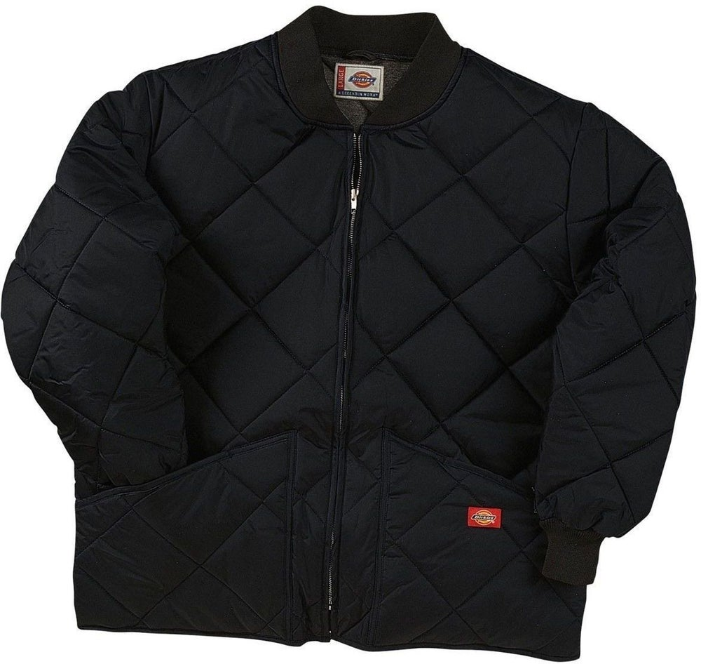 Image of Dickies - Men's Water Resistant Diamond Quilted Nylon Jacket