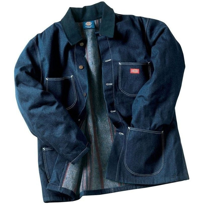 Dickies 3494 Denim Blanket Lined Chore Coat / HomieGear