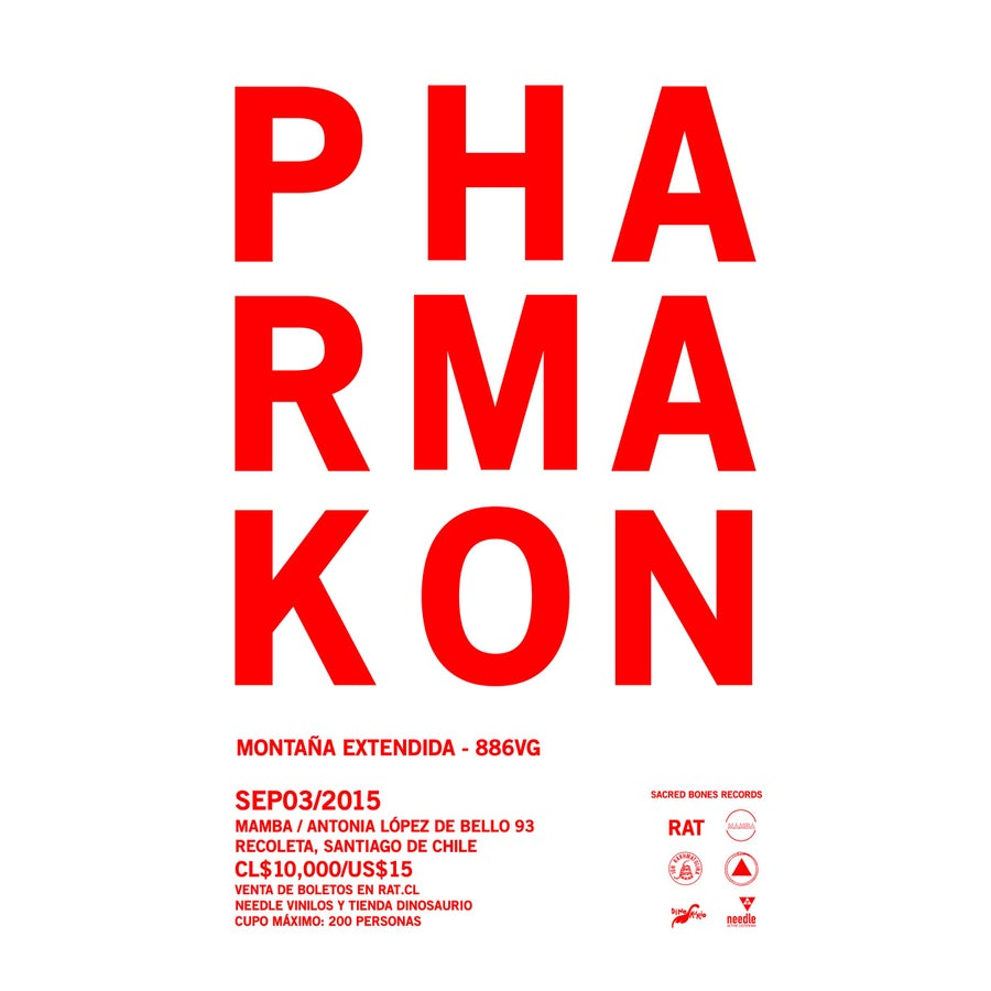 Image of PHARMAKON / SACRED BONES SOUTH AMERICAN TOUR