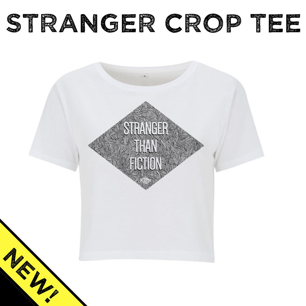 Image of Stranger Than Fiction Crop Top