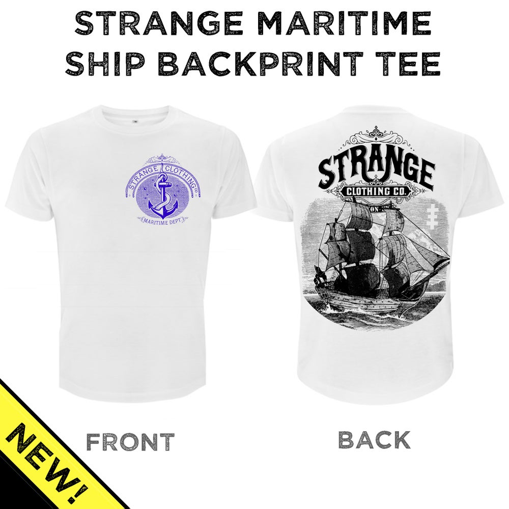 Image of Maritime Ship Tee - Front & Backprint