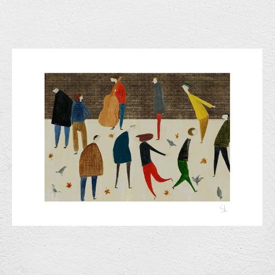 Image of Bankside Print