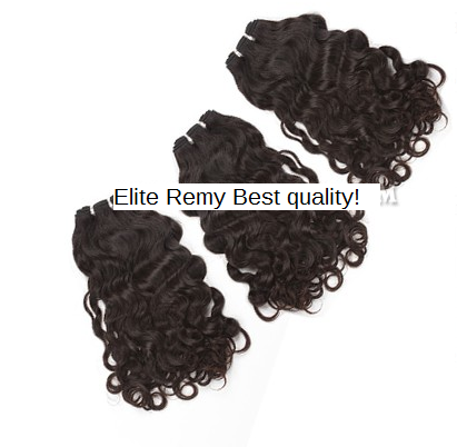 Image of 3pcs 8A 4oz Premium Best quality Remy Virgin Brazilian, Malaysian, Peruvian human hair bundles
