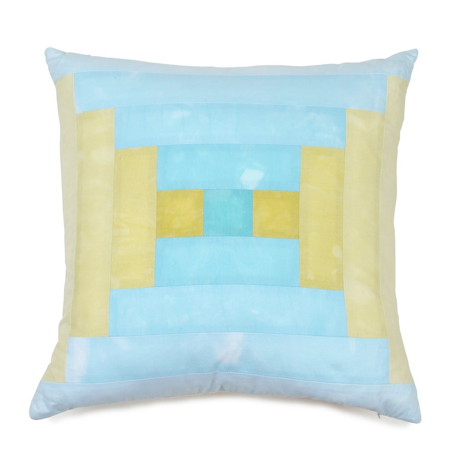 Image of Steps Pillow - Sea and Sand I