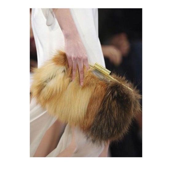 Image of Faux Fur Clutch