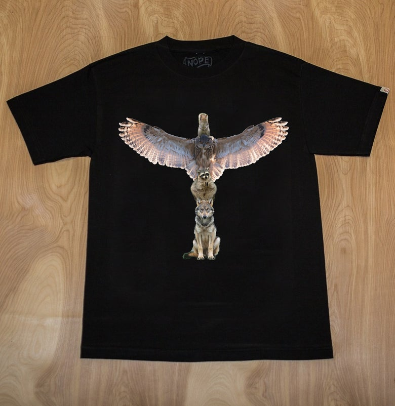 Image of Nope Totem Shirt T-Shirt