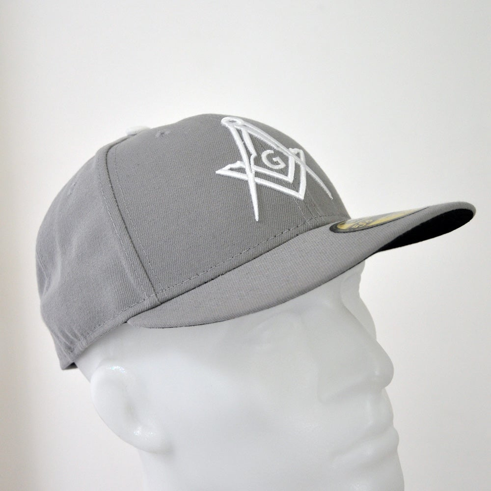 Image of Grey fitted 5950 Low Crown