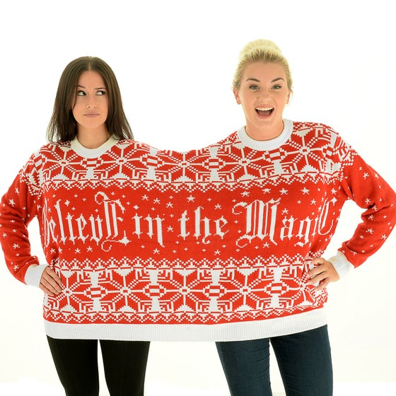 Image of Twosie Christmas Jumper for 2 People