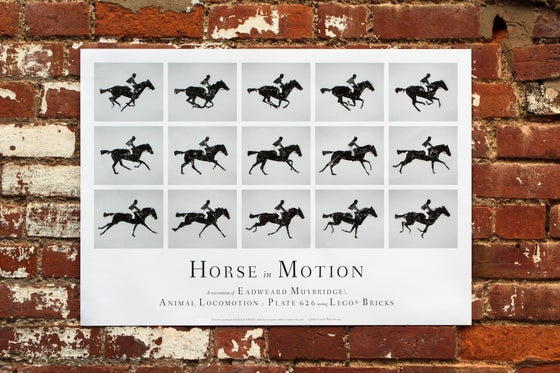 Image of Horse in Motion Poster