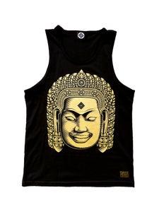 Image of BAYON BUDDHA TANK   Gold Series
