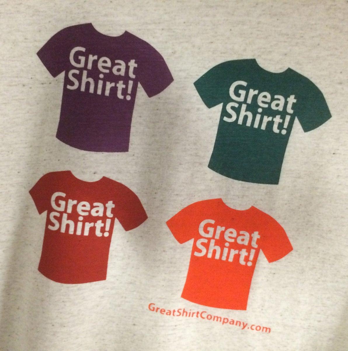 Great Shirt Company Logo Tee Great Shirt Company