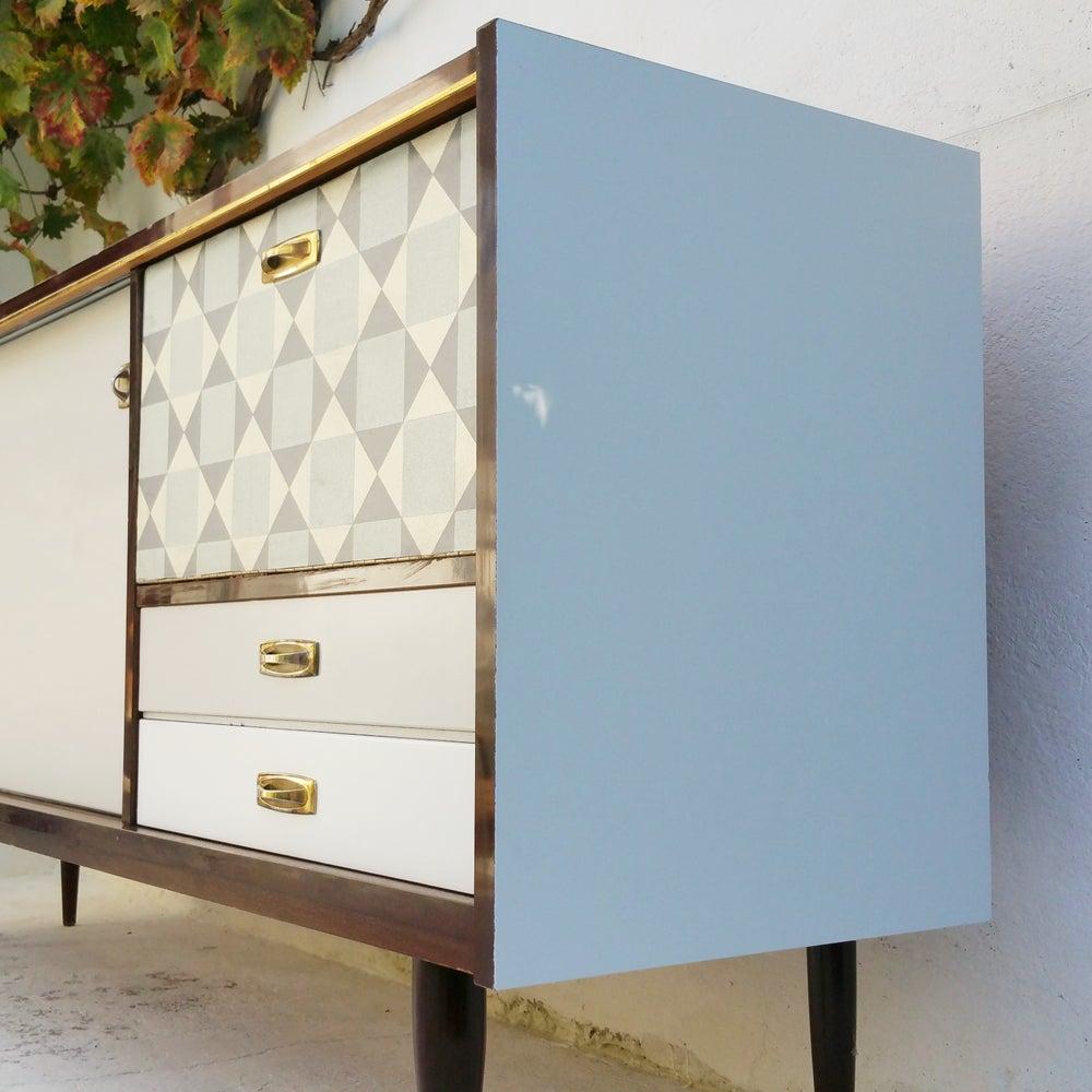 enfilade vintage esprit scandinave fibresendeco. Black Bedroom Furniture Sets. Home Design Ideas