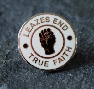 Image of Leazes End SOUL - TRUE FAITH Pin Badge