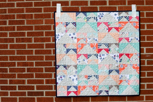 Image of Geese in Flight Quilt PAPER Pattern