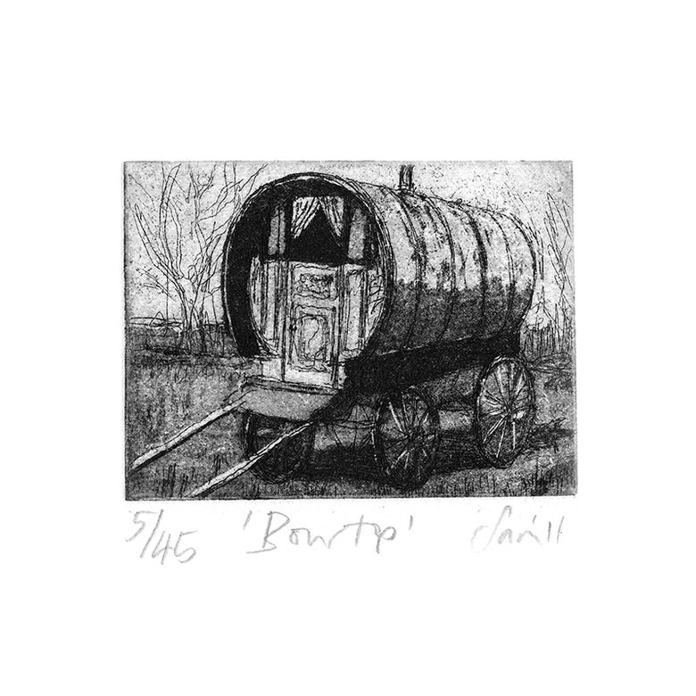 Image of 'Bow Top' - etching
