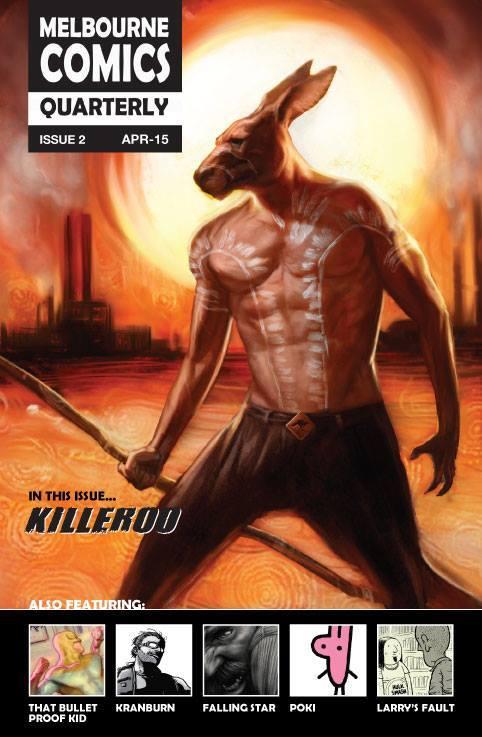 Image of Melbourne Comics Quarterly #2