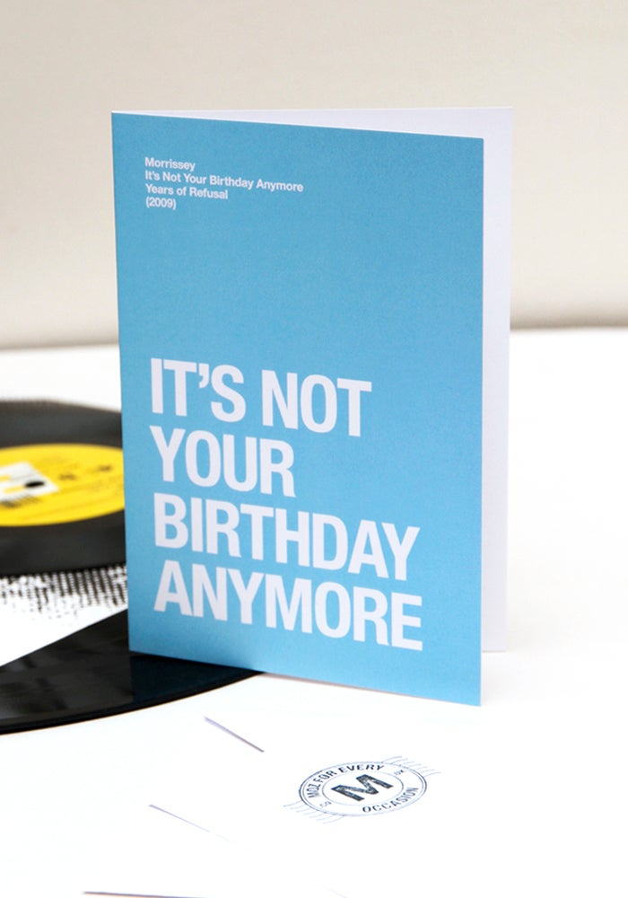 Image of It's Not Your Birthday Anymore card