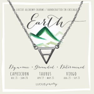 Image of LUCIUS Alchemy Charms - Earth