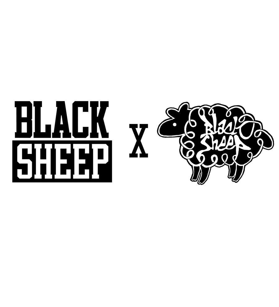 Image of 'BLACK SHEEP x BLACK SHEEP' COLLAB T-SHIRT (BLACK)