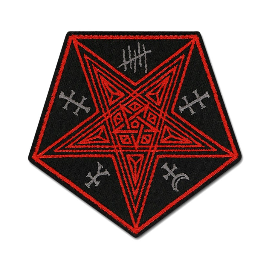 Image of Pentagon Pentacle Patch