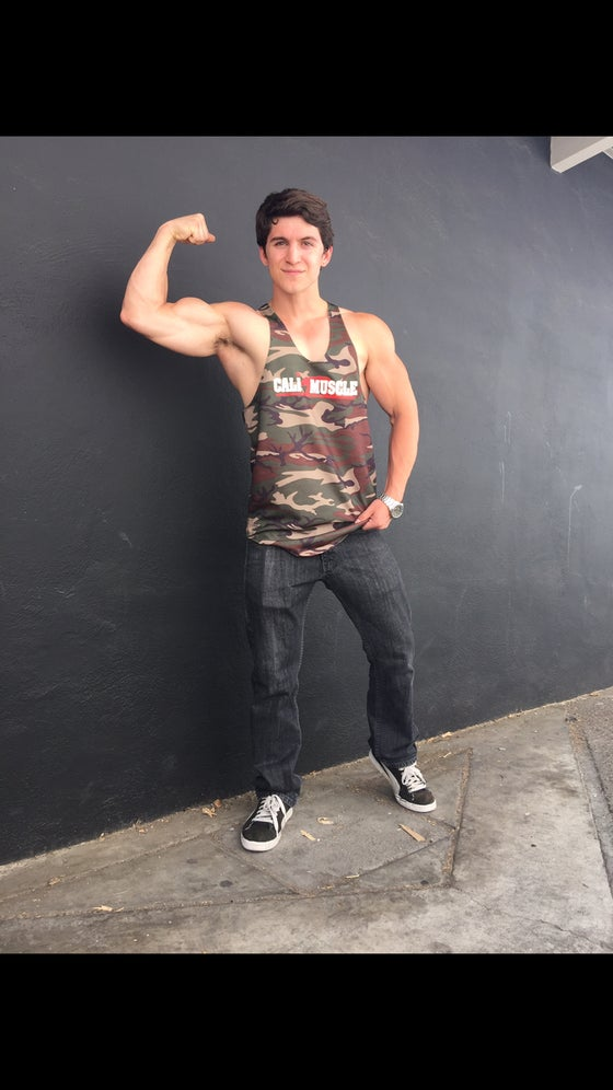 Image of Camo Stringer