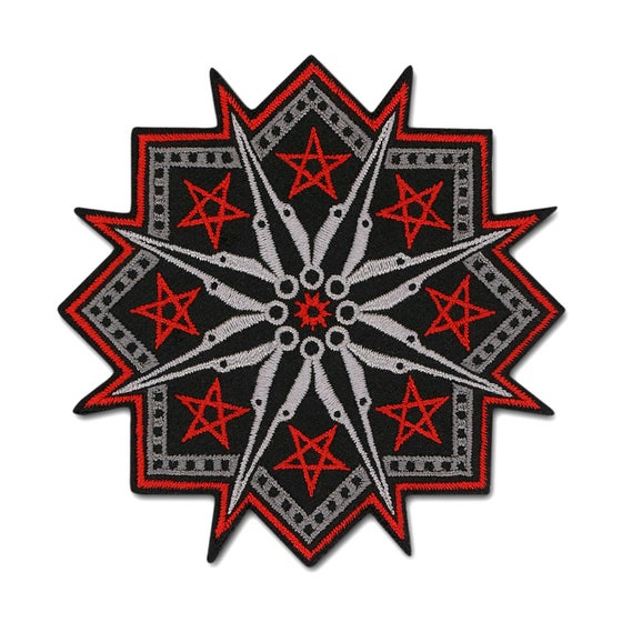 Image of Star Compass Patch