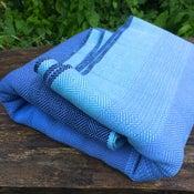 Image of Blue Baby Wrap / Blå babyvikle, size 5