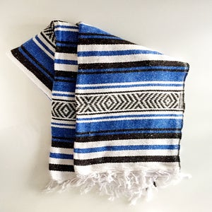 Image of Vera Cruz Mexican Banket: Cobalt Blue