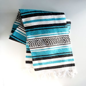Image of Vera Cruz Mexican Banket: Turquoise