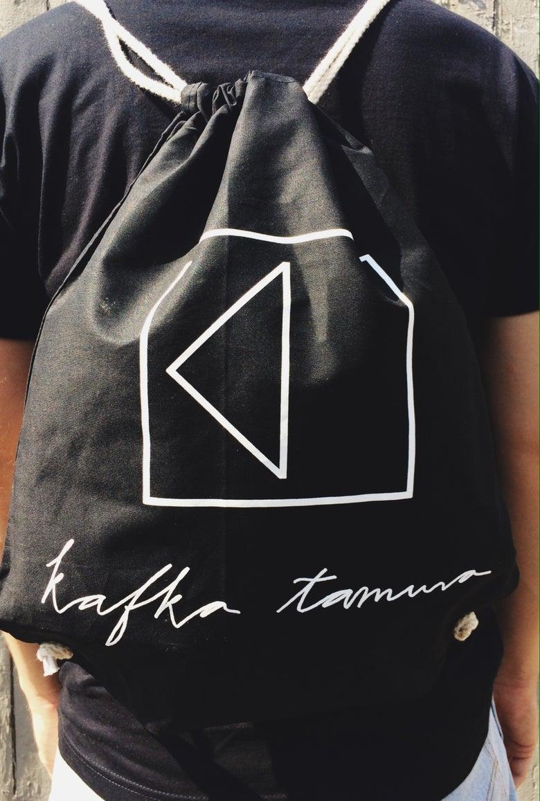 Image of KAFKA TAMURA GYM-BAG *black*