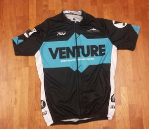 """Image of Venture Jersey - """"Benefit the World. Discover Your Soul."""""""