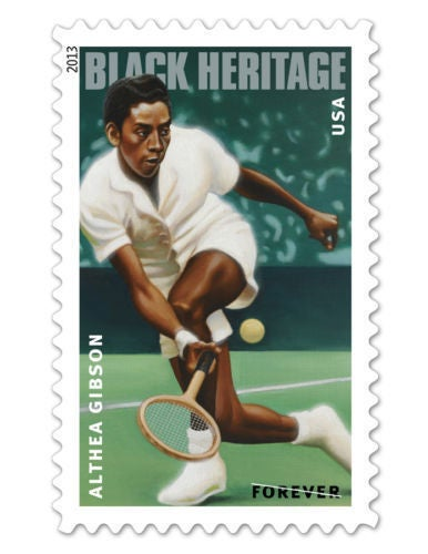 Image of Althea Gibson Postage Stamp