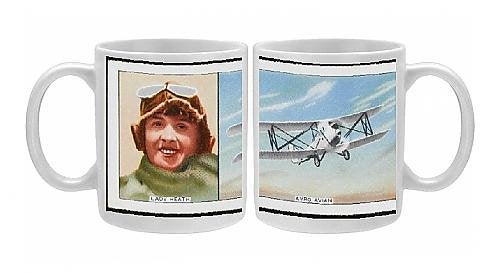 Image of The Aviatrix Mary Lady Heath Coffee Mug
