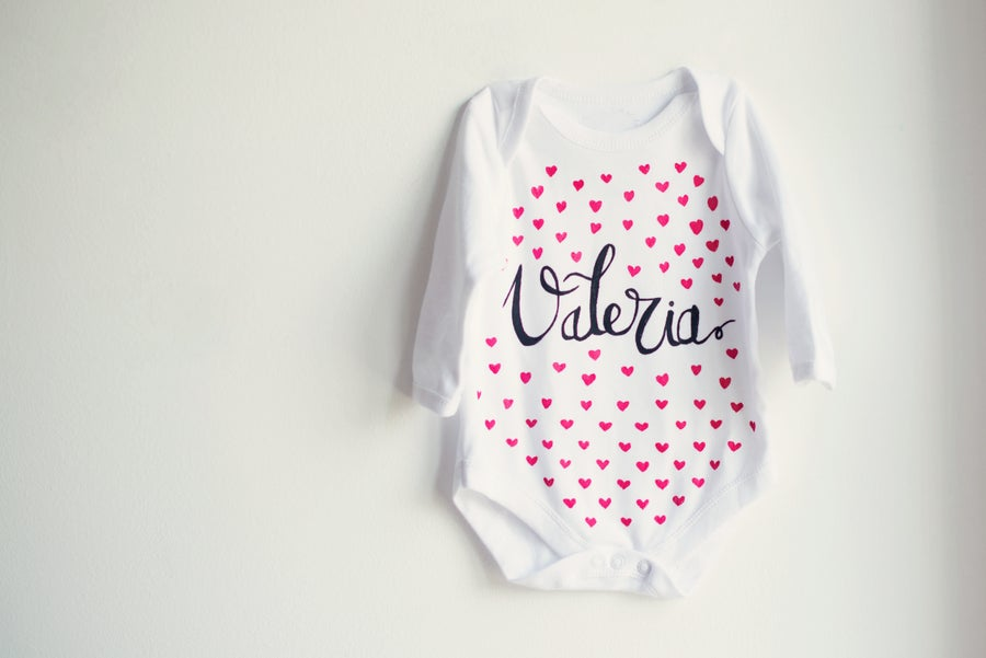 Image of Body Personalizado con el nombre de tu bebé