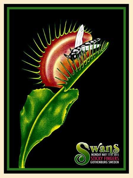 Image of Swans - 5/11/2015 - Gothenburg Sweden