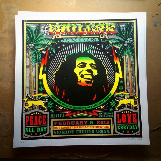 Image of The Wailers - 2/06/2015 - Sunshine Theater- Albuquerque, NM