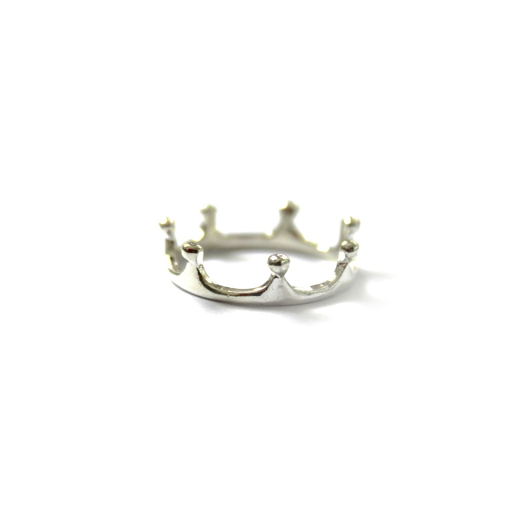 Image of DELICATE CROWN RING