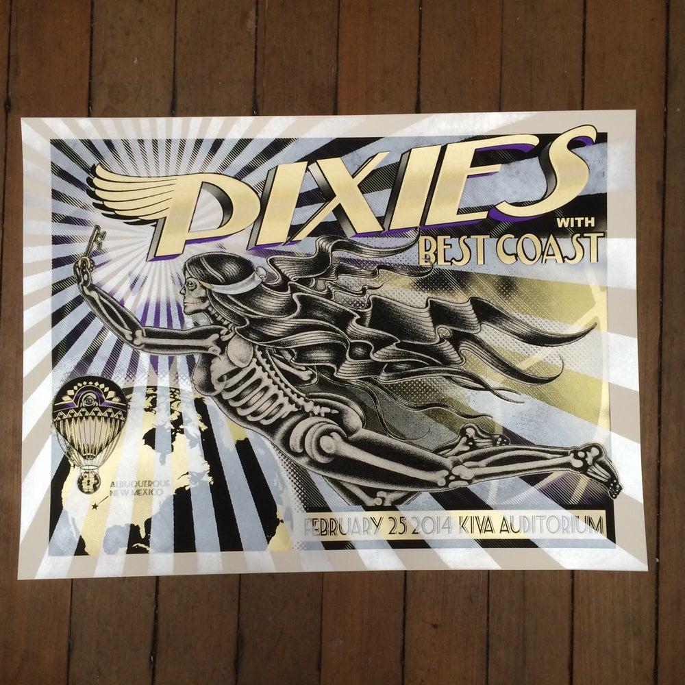 Image of Pixies - 2/25/2014 - Kiva Auditorium- Albuquerque NM