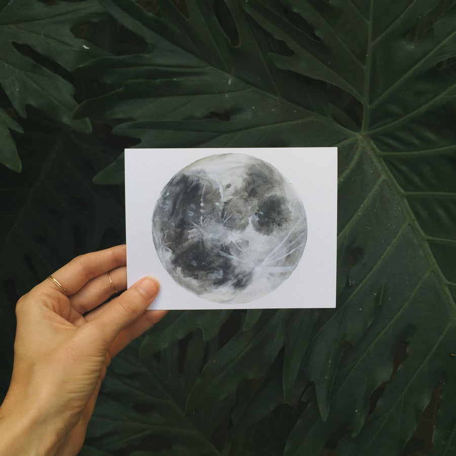 Image of Moon Postcard Set