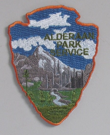 Image of Alderaan Park Service Series #8 Patch