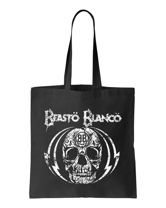 "Image of BEASTO BLANCO - 2015 - ""SKULL"" LOGO BLACK BAG"