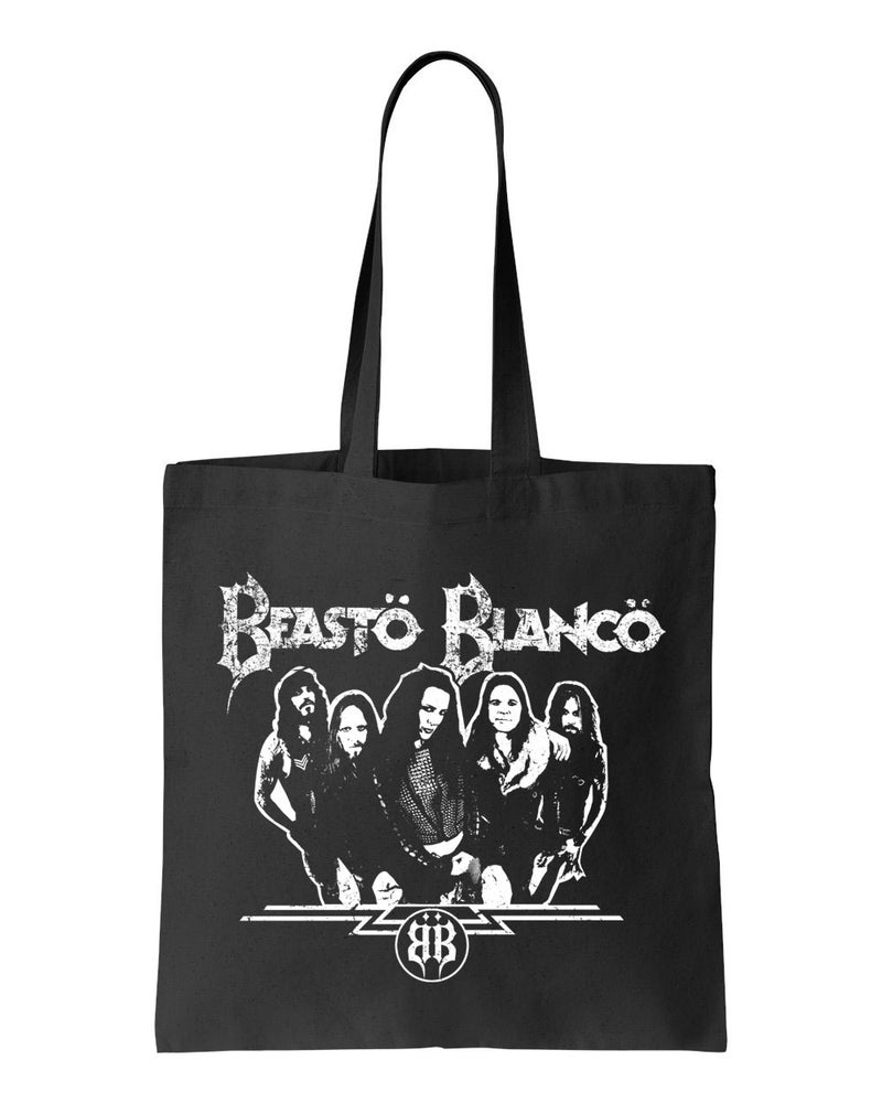 "Image of BEASTO BLANCO - 2015 - ""BAND"" LOGO BLACK BAG"