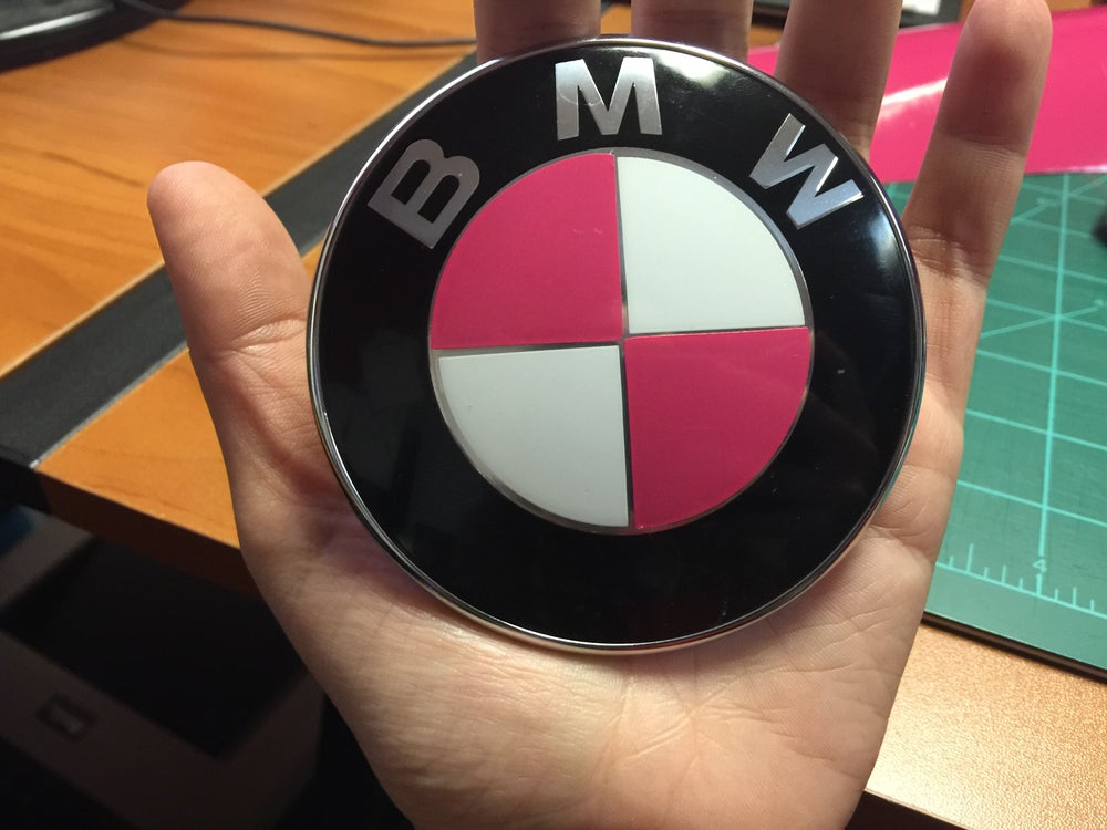 Image of BMW roundel overlays