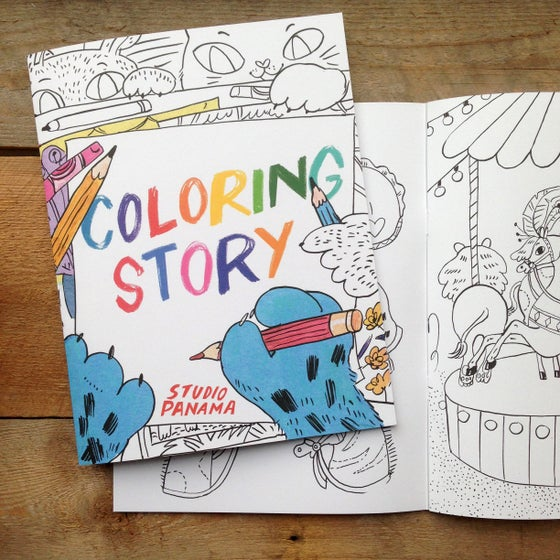Image of Coloring Story